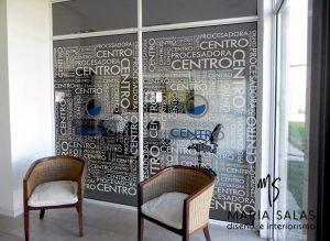 Ambientes con vinilo diseñados por Maria Salas