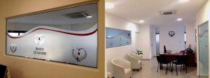 Decoración de interior, ambientes con vinilo en clínicas, viviendas, empresas, corporaciones, by María Salas Diseño e Interiorismo