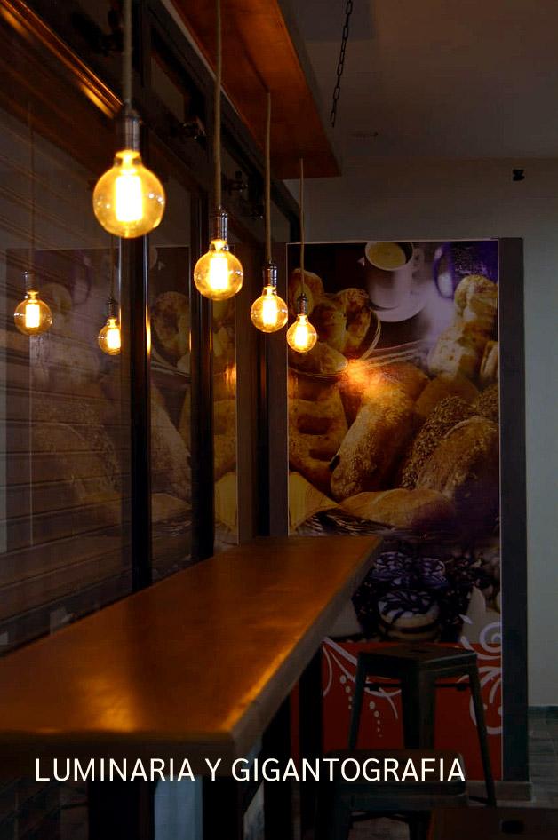 Diseño de mobiliario y eleccion de luminaria.