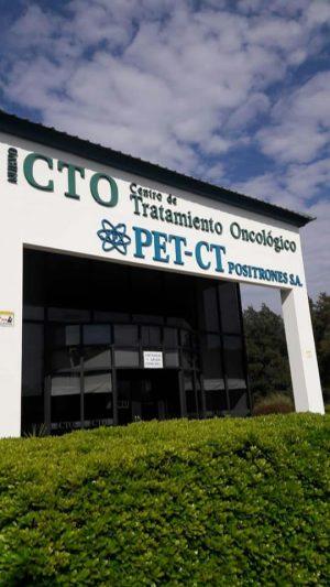 Letra corporea para Icto, Centro de tratamiento Oncológico