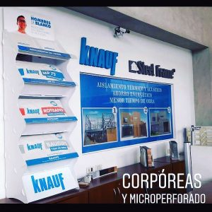 Letras corpóreas y microperforados para empresas by María Salas