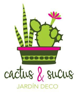Logo para Catus & Sucus, Jardín Deco por María Salas Diseño & Deco