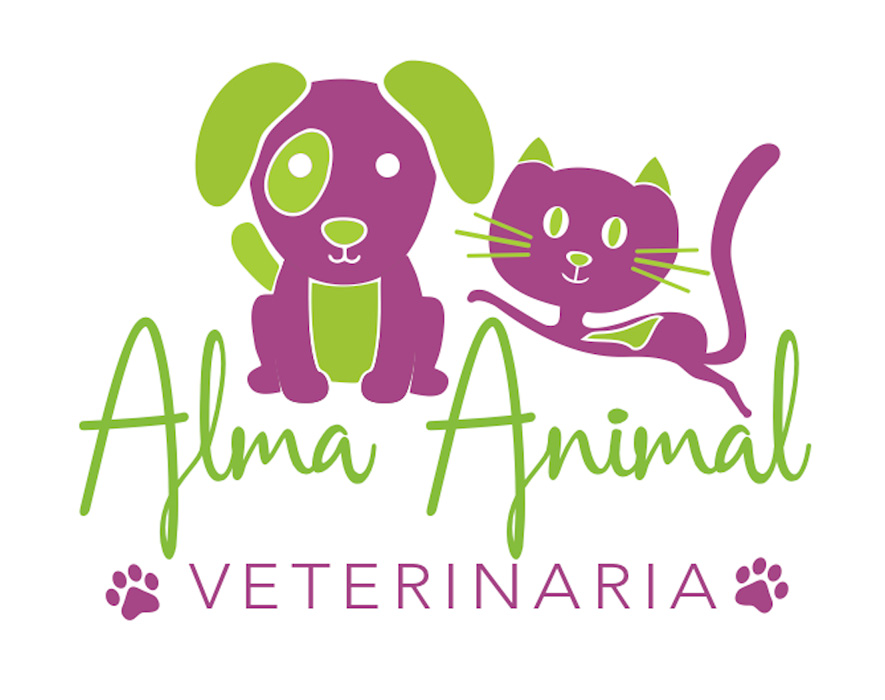Logo para Alma animal, Veterinaria por María Salas Diseño & Deco