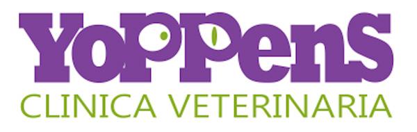 Logo para Yoppens, Veterinaria por María Salas Diseño & Deco
