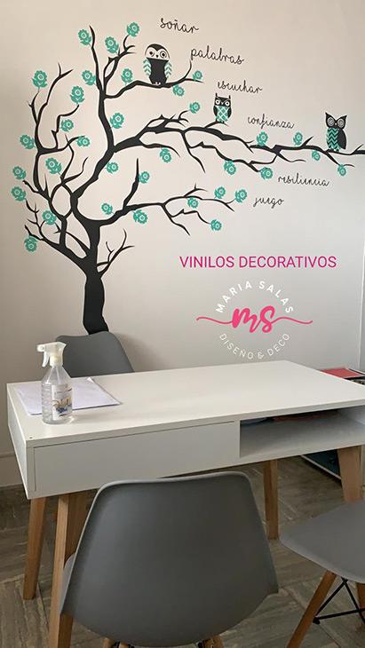 Maria Salas Comunicacion visual, diseno, interiorismo, vinilo