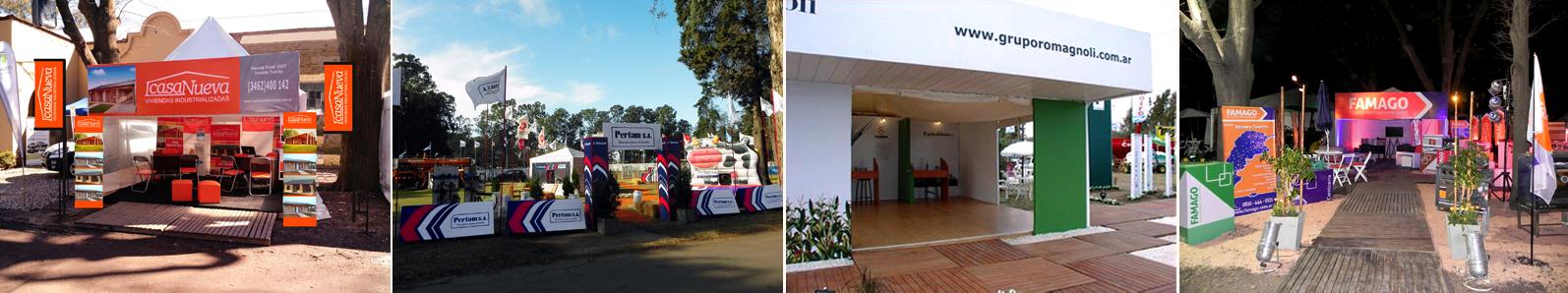 Stands    Ferias y Exposiciones    Gazebos