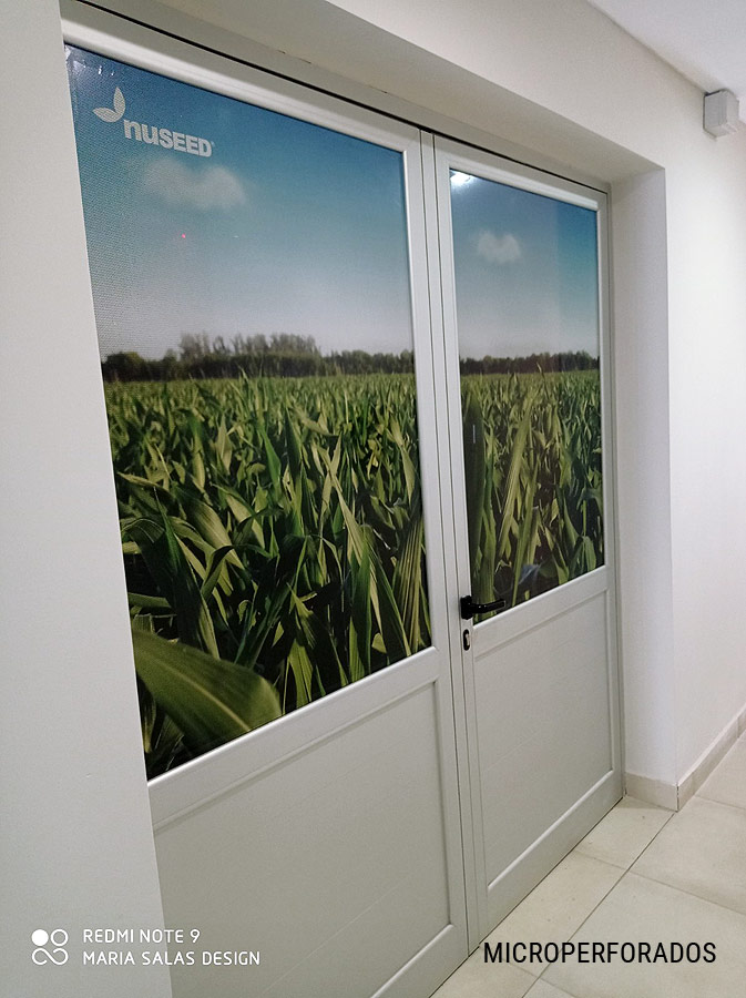 Ambientación para la empresa Nuseed Semillas por María Salas Diseño & Deco