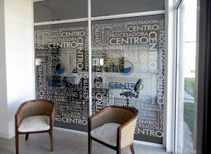 Rotulación de vidrieras by María Salas