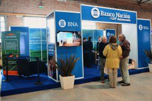 Diseño llave en mano de stands Banco Nación