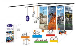 Proyectos3D. muestras de previsualización de diseño de stands. locales comerciales, oficinas, empresas by María Salas